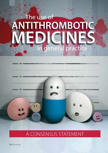 The use of ANTITHROMBOTIC MEDICINES - Bpac.org.nz