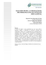 lean seis sigma - Congresso Nacional de Excelência em Gestão