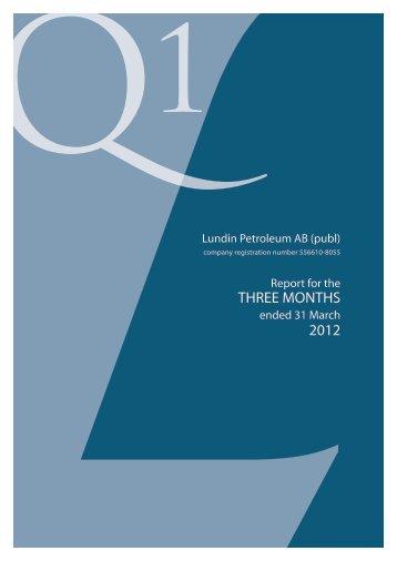 PDF download - Lundin Petroleum