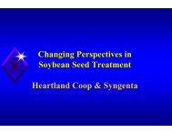 Changing Perspectives in Soybean Seed Treatment ... - AgriCharts
