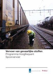 PHS brochure gevaarlijke stoffen - ProRail
