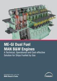 ME-GI Dual Fuel MAN B&W Engines - MAN Diesel & Turbo
