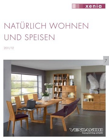 nat rlich wohnen und speisen venjakob. Black Bedroom Furniture Sets. Home Design Ideas