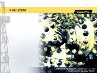 AGM 2008 - Ashley Heppenstall - Lundin Petroleum