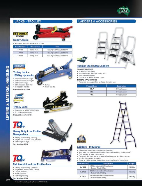 Ladders - McGinns
