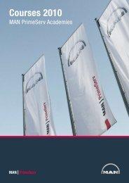 Courses 2010 - MAN Diesel & Turbo