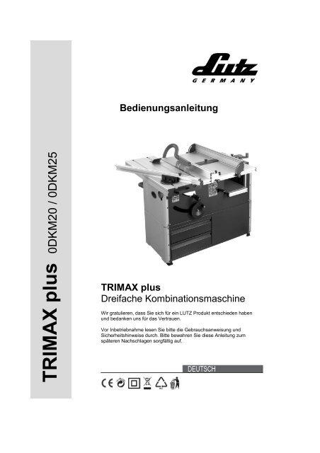TRIMAX plus - LUTZ MASCHINEN