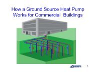 How a Ground Source Heat Pump Works for ... - Sonic Drilling Ltd.