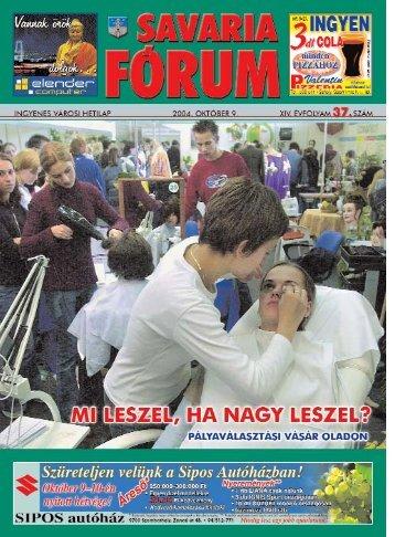 FELH®VúS - Savaria Fórum
