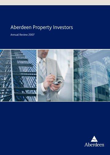Aberdeen Property Investors - Aberdeen Asset Management