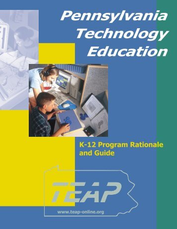 K-12 Rationale and Program Guide - TEEAP!