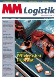 Effizienz - MM Logistik