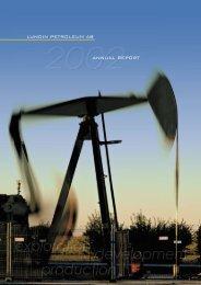 Annual Report 2002 - Lundin Petroleum