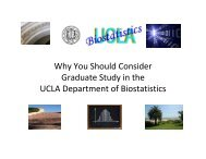Why You Should Consider Graduate Study in the UCLA Department ...