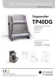 TP40DG - GGM Gastro International
