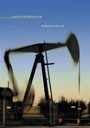 Årsredovisning 2002 - Lundin Petroleum