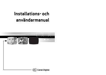 Manualen - Canal Digital