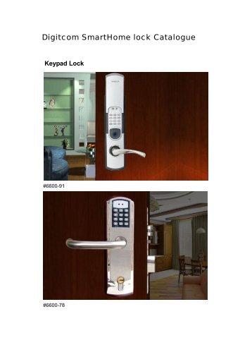 Digi lock Catalogue - Smart Home