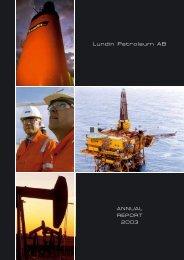 Annual Report 2003 - Lundin Petroleum