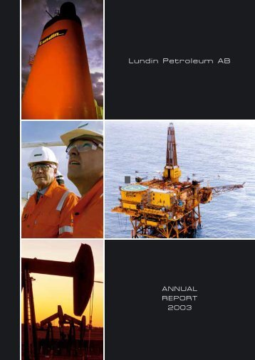Annual Report 2003 - Lundin Petroleum