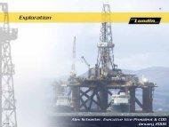2006 Budgeted Exploration - Lundin Petroleum