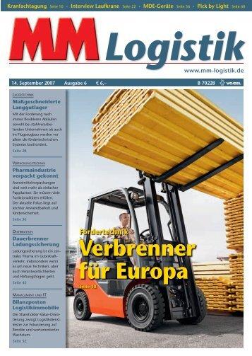 Verbrenner für Europa - MM Logistik