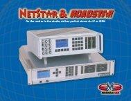 Netstar brochure - Gferreira - broadcasting