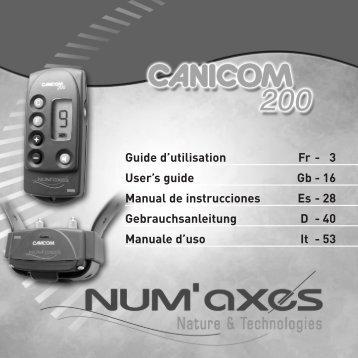CANICOM 200 - Num'Axes