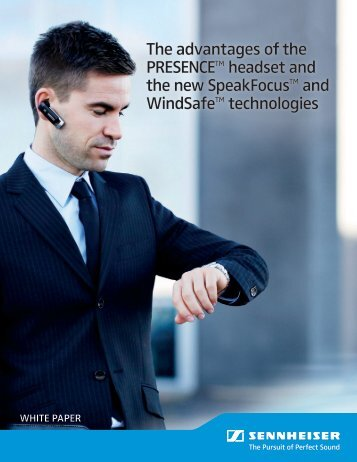Download white paper here - Sennheiser