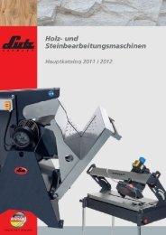 Holz- und Steinbearbeitungsmaschinen - LUTZ MASCHINEN
