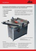 Holz- und Steinbearbeitungsmaschinen - LUTZ MASCHINEN - Seite 7