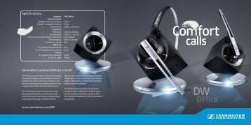 new single-sided DECT headset - AAA Headsets