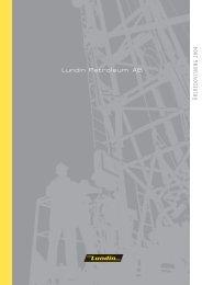 Årsredovisning 2004 (3.7 MB) - Lundin Petroleum