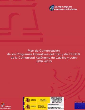 Plan de Comunicación 2007-2013 - Junta de Castilla y León