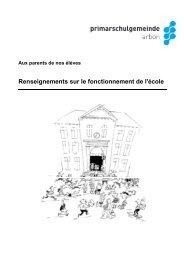 franz. Broschüre Hinweise Schulbetrieb 09-2012 - Psgarbon.ch