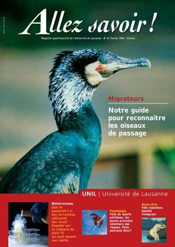 Migrateurs Notre guide pour reconnaître les oiseaux de passage