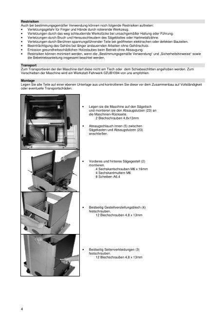 A4 Jumbo Plus 01.01.2010 - LUTZ MASCHINEN