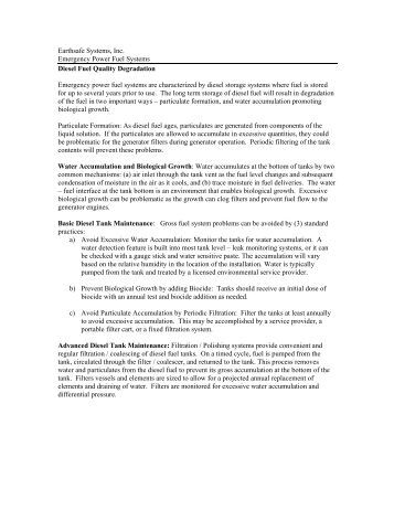 M300.T02 Biocide Recommendations - Earthsafe Systems, Inc.