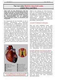 Ein Beitrag von Professor Dr. Franz Weidinger - Herzverband Salzburg