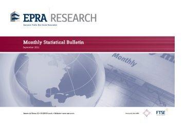 Monthly Statistical Bulletin - EPRA
