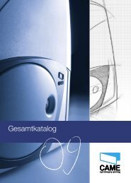 General catalogue Gesamtkatalog