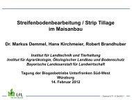 Strip Till im Maisanbau - Bayern