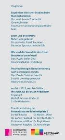 Patientinnenveranstaltung - Mammographie-Screening - Hildesheim - Seite 2