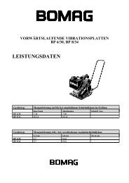 Technisches Datenblatt BP 8/34