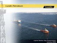 Capital Market Day presentation 2010 - Lundin Petroleum