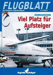 Ausgabe 2/02 - Flughafen Stuttgart