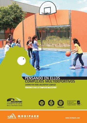 Complejos Multideportivos - MOBIPARK SL, Mobiliario Urbano y ...