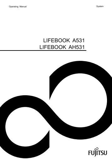 lifebook a531 lifebook ah531