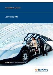 Jaarverslag 2010 - TenCate