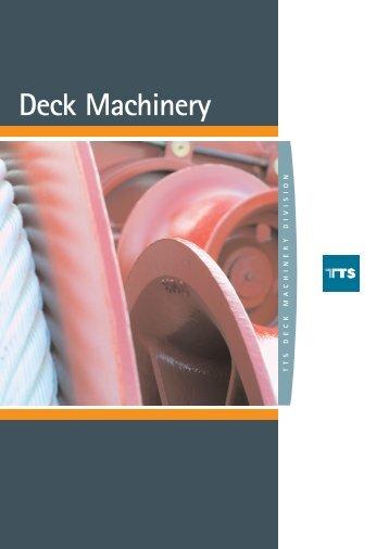 TTS Deck Machinery brochure
